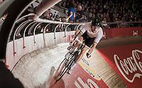 Sir Bradley Wiggins (GBR/Wiggins) pacing Mark Cavendish (GBR/Dimension Data)<br /> <br /> 2016 Gent 6<br /> day 2