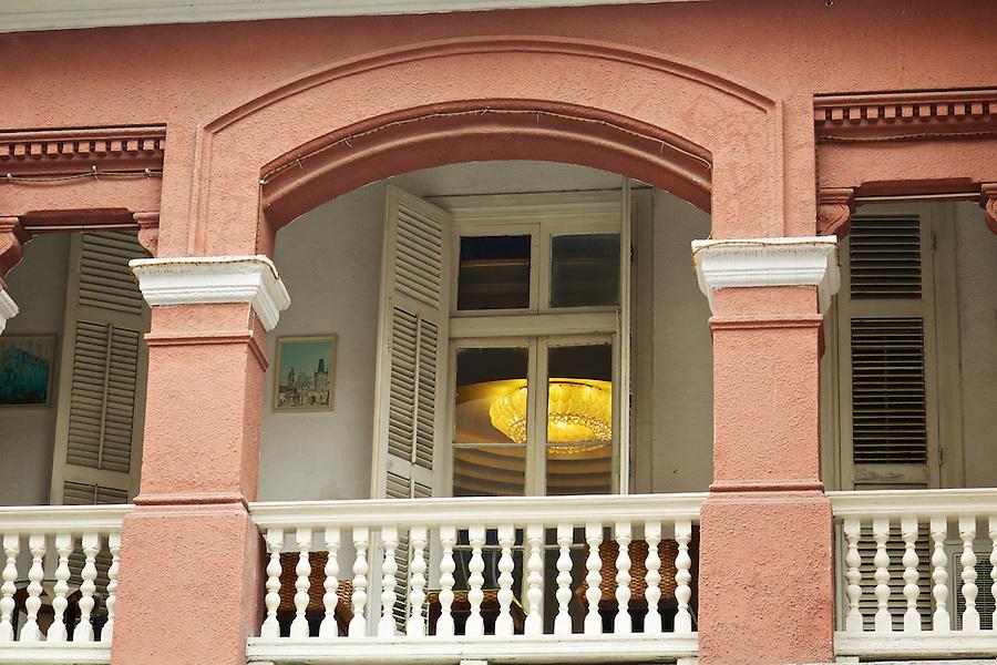 First Floor Balcony, Consul's Residence In Yichang (Ichang).