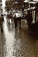 San Francisco Rains