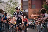 Tom Dumoulin (NED/Sunweb) to sign-on<br /> <br /> Stage 21: Houilles > Paris / Champs-Élysées (115km)<br /> <br /> 105th Tour de France 2018<br /> ©kramon
