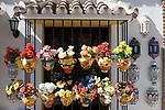 ESP, Spanien, Andalusien, Provinz Málaga, Costa del Sol, Mijas: weisses Dorf, Andenkenlaeden | ESP, Spain, Andalusia, Province Málaga, Costa del Sol, Mijas: pueblo blanco, souvenirshop