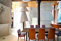 art deco dining room