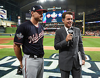HOUSTON - OCTOBER 22: Tom Verducci at World Series Game 1: Washington Nationals at Houston Astros on Fox Sports at Minute Maid Park on October 22, 2019 in Houston, Texas. (Photo by Frank Micelotta/Fox Sports/PictureGroup)