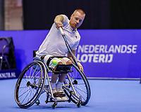 Rotterdam, Netherlands, December 12, 2017, Topsportcentrum, Ned. Loterij NK Tennis, Wheelchair, Maikel Scheffers (NED)<br /> Photo: Tennisimages/Henk Koster