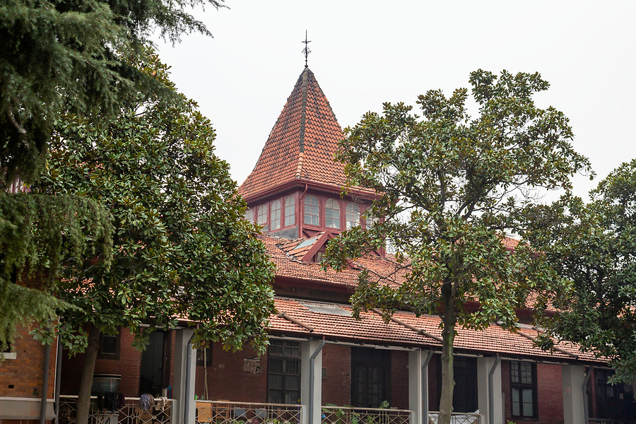 The Hankow Race Club Pavillion. Opened in 1905, The Structure Was Close To Collapse Until The Wuhan Municipal Government Rescued It In 2010.