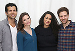 """Gabriel Sloyer, Mairin Lee, Keren Lugo and Ben Rappaport attends the cast photocall for the Worls Premiere of """"Actually, We're F**ked"""" at TheaterLab on January 29, 2019 in New York City."""