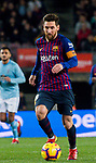 Lionel Andres Messi of FC Barcelona in action during the La Liga 2018-19 match between FC Barcelona and RC Celta de Vigo at Camp Nou on 22 December 2018 in Barcelona, Spain. Photo by Vicens Gimenez / Power Sport Images