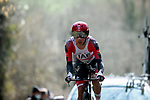 Rui Oliveira (POR) UAE Team Emirates during Stage 3 of Paris-Nice 2021, an individual time trial running 14.4km around Gien, France. 9th March 2021.<br /> Picture: ASO/Fabien Boukla | Cyclefile<br /> <br /> All photos usage must carry mandatory copyright credit (© Cyclefile | ASO/Fabien Boukla)