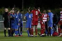 Tempers flare during Redbridge vs Ilford, Essex Senior League Football at Oakside Stadium on 15th October 2021
