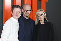 """LOS ANGELES - MAR 9:  Son, Damon Lindelof, Heidi Mary Fugeman at the """"The Hunt"""" Premiere at the ArcLight Hollywood on March 9, 2020 in Los Angeles, CA"""