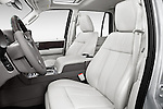Front seat view of2015 Lincoln Navigator Select 5 Door SUV Front Seat car photos