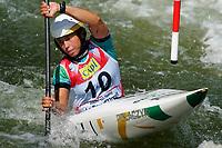4th September 2021; Parc Olimpic del Segre, La Seu D'Urgellm ICF Slalom World Cup, Women's Kayak Final;  Ana Satila (BRA)