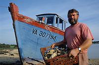 Europe/France/Bretagne/56/Morbihan/Golfe du Morbihan/Brillac: Gilles Guillevic (Ostréïculteur) [Non destiné à un usage publicitaire - Not intended for an advertising use]