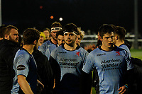 Lewis Wynne of London Scottish cuts a dejected figure during the Greene King IPA Championship match between Ealing Trailfinders and London Scottish Football Club at Castle Bar , West Ealing , England  on 19 January 2019. Photo by Carlton Myrie/PRiME Media Images