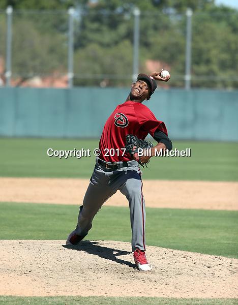 Edwin Quezada - 2017 AIL Diamondbacks (Bill Mitchell)