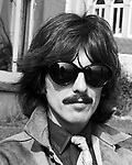 Beatles 1967 George Harrison during filming of the Magical Mystery Tour
