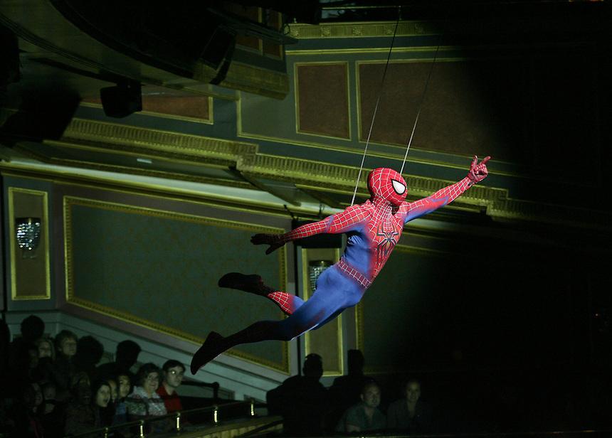 Spider-Man: Turn Off the Dark.  Foxwoods Theatre.  Photo by Ari Mintz.  6/2/2011.