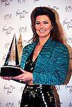 Shania Twain 1996 American Music Awards.© Chris Walter.