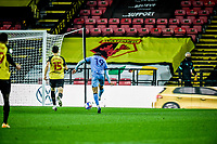7th November 2020; Vicarage Road, Watford, Hertfordshire, England; English Football League Championship Football, Watford versus Coventry City; Tyler Walker scores Coventry City' second goal in the 64th minute for 1-2