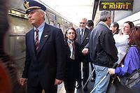 Manifestazione per richiedere maggior sicurezza dei percorsi nelle stazioni della metropolitana. Demonstration to request more safety paths in metro stations.....