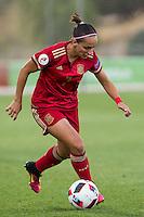 Spain's Marta Corredera during the match of  European Women's Championship 2017 at Las Rozas, between Spain and Montenegro. September 15, 2016. (ALTERPHOTOS/Rodrigo Jimenez) /NORTEPHOTO