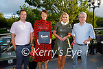 """Bríd O'Connor launching her book """"Spark Stories to Ignite Body, Mind and Soul""""  on Friday in the Rose Hotel,  l to r: Councillor Mikey Sheehy, Bríd O'Connor, Susan Sheehy and Billy Keane"""