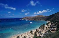 Hanauma Bay, Oahu, Hawaii, USA, August 1996