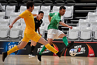 Adam Cowan of Central during the Men's Futsal SuperLeague, Central Futsal v Southern United Futsal at ASB Sports Centre, Wellington on Saturday 31 October 2020.<br /> Copyright photo: Masanori Udagawa /  www.photosp ort.nz