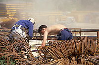 - building yard in Pavia....- cantiere edile a Pavia