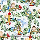 Randy, GIFT WRAPS, GESCHENKPAPIER, PAPEL DE REGALO, paintings+++++Wintering-Birds-White-background,USRW217,#GP# Christmas napkins