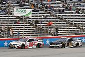 #20: Erik Jones, Joe Gibbs Racing, Toyota Camry Sport Clips, #10: Aric Almirola, Stewart-Haas Racing, Ford Mustang Smithfield