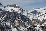 View from Albona 2 Chairlift, Stuben Ski Area, St Anton, Austria