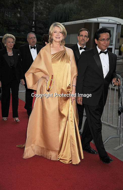 Martha Stewart and guest.arriving at The opening night of the Metropolitan Opera  on September 22, 2008 at The Metropolitan Opera House in New York City. ..Robin Platzer, Twin Images