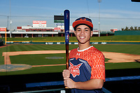 Josh Garcia during the Under Armour All-America Tournament powered by Baseball Factory on January 17, 2020 at Sloan Park in Mesa, Arizona.  (Zachary Lucy/Four Seam Images)