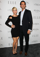 BEVERLY HILLS, CA, USA - OCTOBER 20: Kaley Cuoco, Ryan Sweeting arrive at ELLE's 21st Annual Women In Hollywood held at the Four Seasons Hotel on October 20, 2014 in Beverly Hills, California, United States. (Photo by Celebrity Monitor)