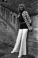 Septembre 1972. CLaude Manlay, femme chef d'orchestre a Toulouse