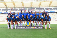 Carson, CA - Thursday August 03, 2017: Brazil prior to a 2017 Tournament of Nations match between the women's national teams of Australia (AUS) and Brazil (BRA) at the StubHub Center.