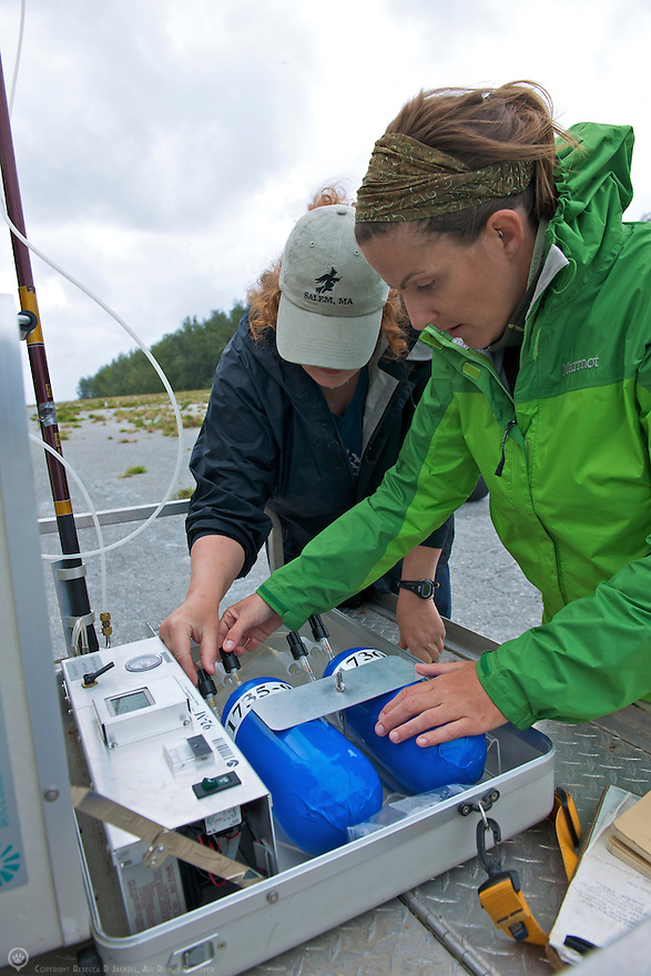 Air sampling from remote locations help researchers gain a global picture of green house gases and the carbon cycle.  Volunteers around the world are indispensable for data collection.<br /> <br /> Learn more about the Carbon Cycle group:<br /> http://www.esrl.noaa.gov/gmd/ccgg/