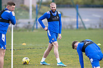 St Johnstone Training....30.04.21<br />Shaun Rooney pictured during training at McDiarmid Park ahead of tomorrows game at Hibs.<br />Picture by Graeme Hart.<br />Copyright Perthshire Picture Agency<br />Tel: 01738 623350  Mobile: 07990 594431