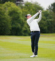 4th July 2021; Mount Juliet Golf Club, Kilkenny, Ireland; Dubai Duty Free Irish Open Golf, Day Four; Rory Mcilroy of Northern Ireland takes his second shot on the 7th hole