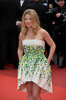 """FRA: """"THE BFG"""" Red Carpet- The 69th Annual Cannes Film Festival - Melanie Thierry attend """"THE BFG"""". Red Carpet during The 69th Annual Cannes Film Festival on May 14, 2016 in Cannes, France."""