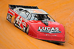 Jul 4, 2009; 8:15:51 PM; Bulls Gap, TN., USA; The Lucas Oil Late Model Dirt Series running a 10,000 to win race at Volunteer Speedway.  Mandatory Credit: (thesportswire.net)