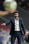 Atletico de Madrid's coach Diego Pablo Cholo Simeone during International Champions Cup 2018 match. August 11,2017. (ALTERPHOTOS/Acero)