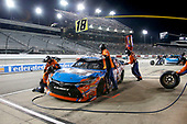 NASCAR XFINITY Series<br /> Virginia529 College Savings 250<br /> Richmond Raceway, Richmond, VA USA<br /> Friday 8 September 2017<br /> Kyle Busch, NOS Energy Drink Toyota Camry pit stop<br /> World Copyright: Matthew T. Thacker<br /> LAT Images