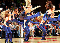 CHARLOTTESVILLE, VA- NOVEMBER 29: The Virginia Cavalier dance team performs during the game on November 29, 2011 at the John Paul Jones Arena in Charlottesville, Virginia. Virginia defeated Michigan 70-58. (Photo by Andrew Shurtleff/Getty Images) *** Local Caption ***