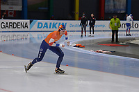SPEEDSKATING: 23-11-2019 Tomaszów Mazowiecki (POL), ISU World Cup Arena Lodowa, 500m Ladies Division A, Michelle de Jong (NED), ©photo Martin de Jong