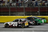 NASCAR XFINITY Series<br /> Drive for the Cure 300<br /> Charlotte Motor Speedway, Concord, NC<br /> Saturday 7 October 2017<br /> Erik Jones, Main Street Bistro Toyota Camry and Daniel Suarez, Juniper Toyota Camry<br /> World Copyright: Nigel Kinrade<br /> LAT Images