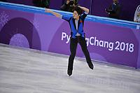 OLYMPIC GAMES: PYEONGCHANG: 12-02-2018, Gangneung Ice Arena, Figure Skating, Kenji Tanaka (JPN), ©photo Martin de Jong