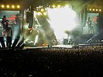 Guns N' Roses en concert le 30 mai 2017 au stade San Mames de la ville de Bilbao San Mames Zelaia au Pays Basque Espagnol.<br /> <br /> Euskal Herria, Euskal Herri, Pays Basque Espagnol, Espagne.