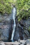 Fautaua Waterfall in Tahiti, French Polynesia